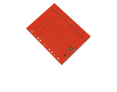 Rozlišovač A4 odstřihávací červený 100ks