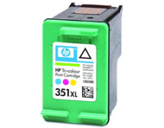 HP CB338 color, No. 351XL, 22ml, 100% NEW kompatibilní kazeta  CB338 , CB 338 , CB337 , CB 337