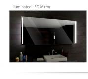 Koupelnové zrcadlo s LED osvětlením 80x60 cm PARIS