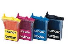 Brother LC 600 černá 12ml kompatibilní kazeta PrintRite LC600