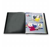Katalogová kniha 10 listů černá