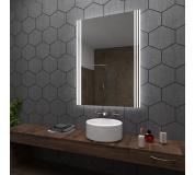Koupelnové zrcadlo s LED podsvětlením 60x110 cm ARICA