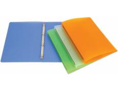 Pořadač čtyřkroužkový OPALINE zelený