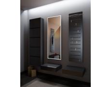 Koupelnové zrcadlo s LED osvětlením 49x160cm BOSTON