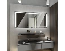 Koupelnové zrcadlo s LED osvětlením 80x60 cm ATLANTA