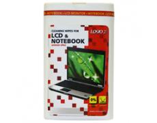 Čistící prostředky trhací ubrousky, na LCD, notebooky, dóza, 50ks, L