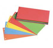 Rozlišovač kartonový 5 barev 10,5x24cm