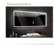 Koupelnové zrcadlo s LED podsvětlením 90x80 cm MADRID