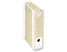 Archivační box HIT Board natur A4 330x260x75mm bílá , archivační krabice