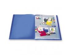 Katalogová kniha 20 listů modrá