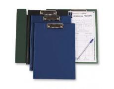 Desky s klipem uzaviratelné modrá