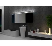Koupelnové zrcadlo s LED osvětlením 90x70cm GIZA
