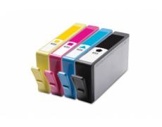 HP CZ109, CZ110, CZ111,CZ112  č.655 - sada,kompatibilní inkoustová kazeta 100%NEW ,1x24ml + 3x15ml