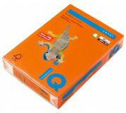 Barevný papír IQ COLORS OR43 A4 80g oranžová 500listů