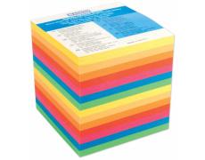 Kostka papírová barevná lepená 700, špalíček papírový, Kostka DONAU lepená