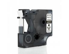 DYMO páska D1 45010 12mm x 7m černo/transparent kompatibilní páska