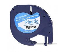 DYMO páska LetraTag 59422/ 91221 - bílá kompatibilní páska