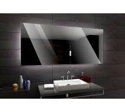 Koupelnové zrcadlo s LED podsvětlením 108x80 cm DUBAI
