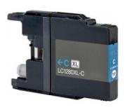 Brother LC1280 modrá 19ml 100%NEW kompatibilní inkoustová kazeta LC 1280,LC-1280,PRINT IT Brother LC-1280 Cyan