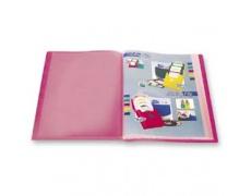 Katalogová kniha 30 listů červená