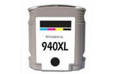 HP C4906A 940XL černá 73ml 100% NEW kompatibilní kazeta C4906 A, C 4906, 940 XL