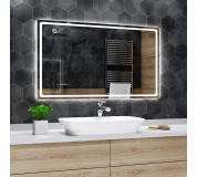 Koupelnové zrcadlo s LED podsvětlením 72x72 cm HOUSTON