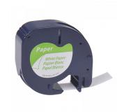 DYMO páska LetraTag 59421 - bílá papírová kompatibilní páska