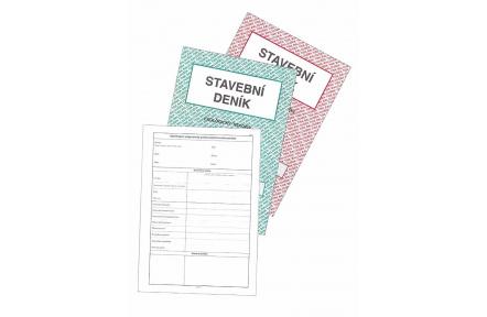 Stavební deník samopropisovací PT255 16 stran+3x20 listů