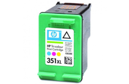 HP CB338 color, No. 351XL,  kompatibilní kazeta  CB338 , CB 338 , CB337 , CB 337