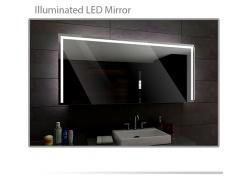 Koupelnové zrcadlo s LED podsvětlením 90x70cm SYDNEY