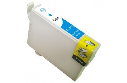 Epson T1282 kompatibilní inkoustová náplň pro Stylus SX125 SX130 SX420W SX425W S22 BX305F, modrá 14ml, C13T12824021