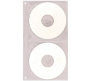 Obal na CD/DVD A4 2 řady 10ks