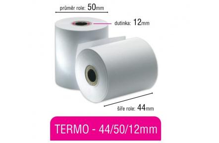 Pokladní kotouček TERMO 44x50x12mm