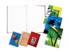 Záznamní kniha šitá A4 100 listů linkovaná