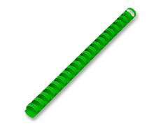 Hřebeny plastové vazací pr.8mm 100ks zelená pro plastovou vazbu , kroužková vazba
