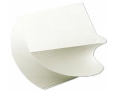 Kostka lepená Vrtule 8,5 x 8,5 cm bílá