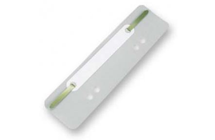 Úchytky do rychlovazače PVC bílé 25ks, rychlovazací pérko