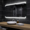 Koupelnové zrcadlo s LED podsvětlením 130x70 cm ASSEN