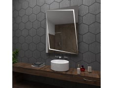 Koupelnové zrcadlo s LED podsvětlením 60x80 cm BERLIN