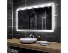 Koupelnové zrcadlo s LED podsvětlením 175x85cm WIEDEN