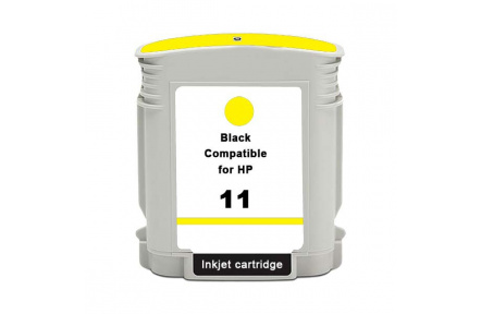 HP C4838 č.11 žlutá,100% NEW kompatibilní, 28ml,  C 4838,Print IT C4838, č.11, žlutá