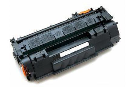 HP Q7553A černá 3000s, kompatibilní toner  Q 7553A