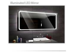 Koupelnové zrcadlo s LED podsvětlením 120x70 cm HOUSTON