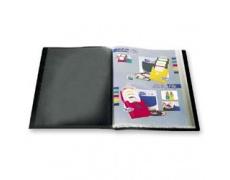 Katalogová kniha 20 listů černá