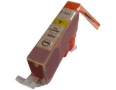 Canon CLI521 YL žlutá S CHIPEM , 12ml ,kompatibilní inkoustová kazeta  KAPRINT CLI 521, CLI-521,Canon CLI-521C -