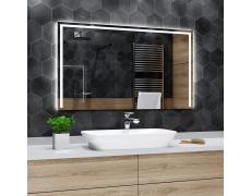 Koupelnové zrcadlo s LED podsvětlením 135x120cm SYDNEY