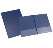 Desky SPORO spodní kapsy modrá A4 desky plastové