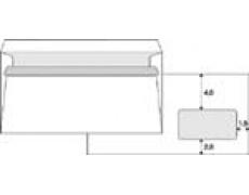 Obálka DL s okénkem samolepící 50ks