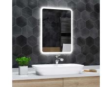 Koupelnové zrcadlo s LED podsvícením 40x60 cm OSAKA