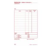 Paragon daňový doklad samopropisovací PT010